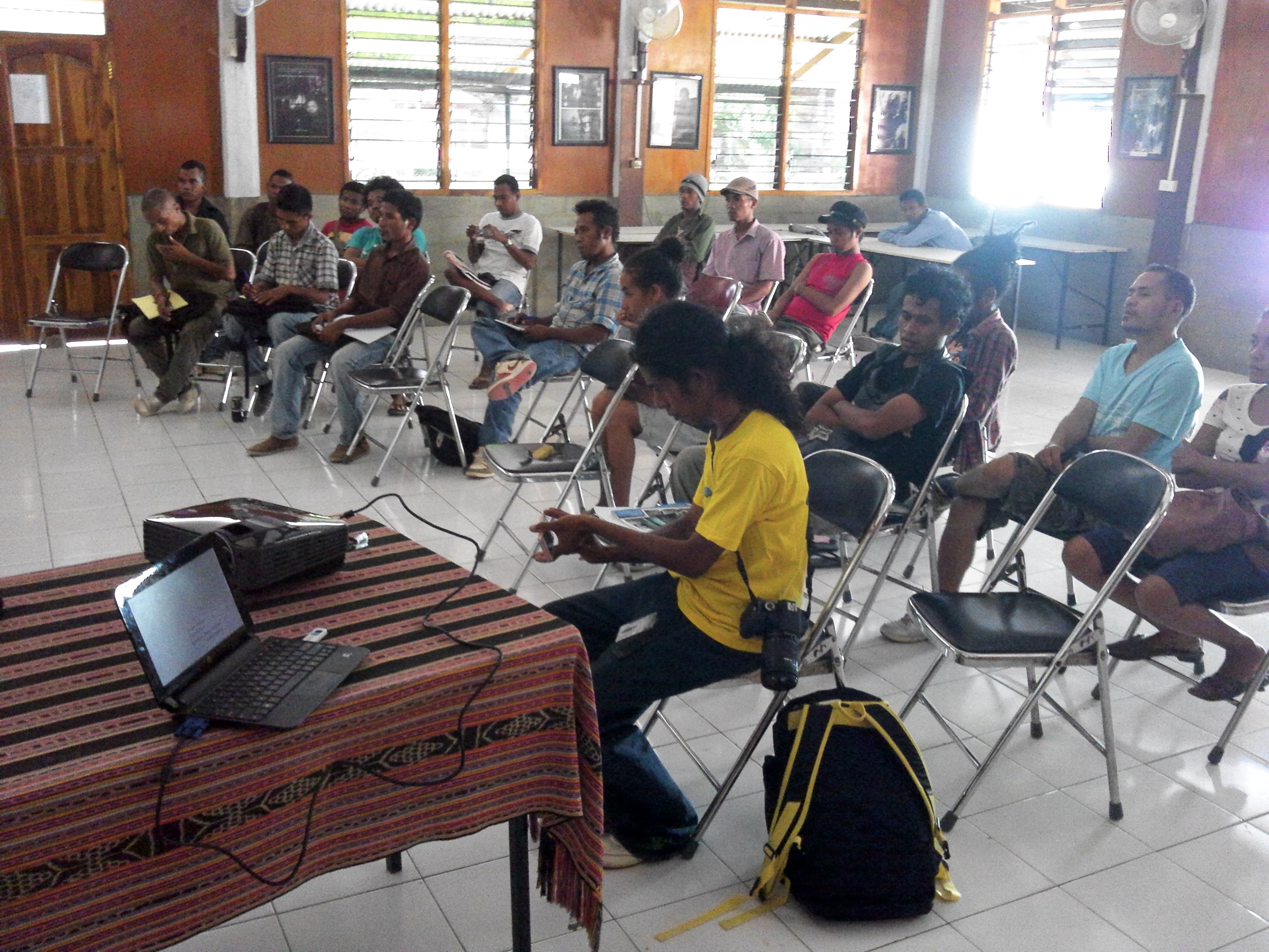 Inter-Island solidarity for Justice event in Timor (2)