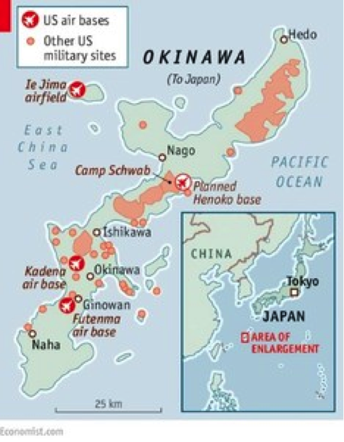 Marine Base In Japan Map.Dangerous Military Buildup In Asia And Pacific Save Jeju Now